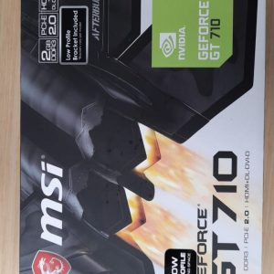 Tarjeta de video Geforce GT710 2GB DDR3 PCI E 2.0